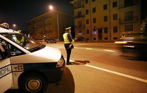 controlli della polizia municipale - foto di repertorio