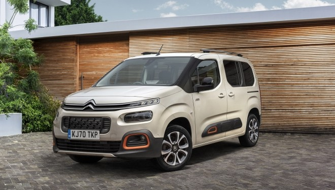 Citroën Berlingo premiato come 'best large car' negli autocar 'britain's Best Cars Awards' 2020