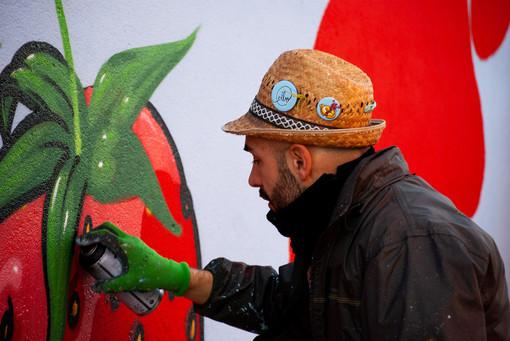 L'urban artist Cibo