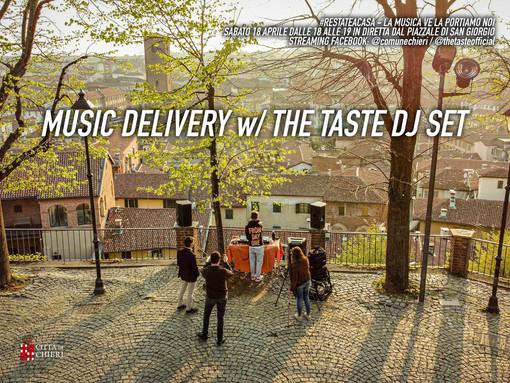 Sabato a Chieri ritorna il dj set con The Taste