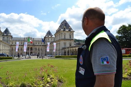 Torino, il contributo della protezione civile al Salone dell'auto