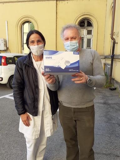 Il consiglio notarile di Torino dona 16mila mascherine all'ospedale Amedeo di Savoia