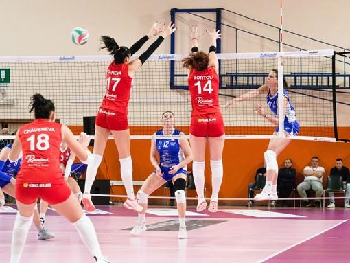 L'Eurospin Ford Sara Pinerolo cade sotto i colpi del Volley Soverato: 1-3