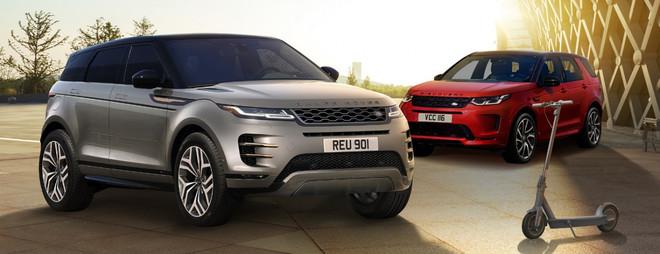Le best seller Range Rover Evoque e Discovery sport in versione limitata per una mobilita' urbana integrata