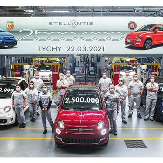 Lo stabilimento Stellantis di Tychy in Polonia festeggia un nuovo traguardo: due milioni e mezzo di Fiat 500 prodotte