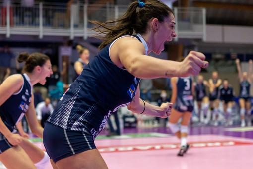 Volley, Francesca Villani vestirà il biancoblù di Chieri anche nella prossima stagione