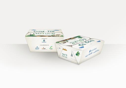 """A Torino l'asporto si fa """"green"""": arrivano i contenitori per cibo bio"""
