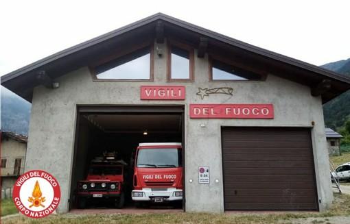 La caserma dei vigili del fuoco