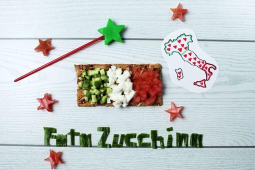 Felici & Veloci, la nuova ricetta di Fata Zucchina: 'Bandiera snack'