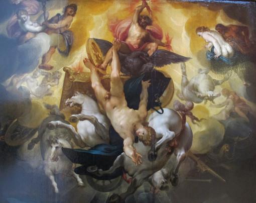 La leggenda di Fetonte che guidò (malamente) il carro del Sole. Un mito che riguarda Torino, prima ancora che diventasse tale