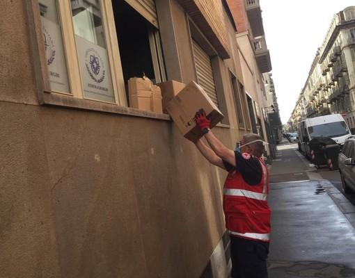 Coronavirus, dagli albergatori torinesi materiali in aiuto della Croce Rossa di Susa