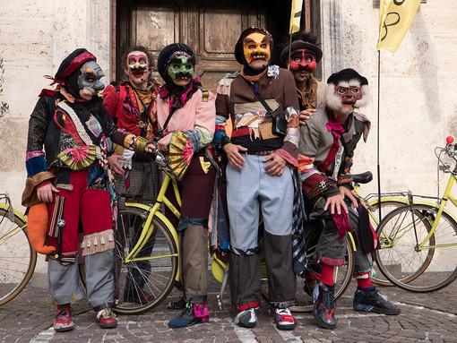 Chieri, il teatro in bicicletta con Faber Teater per la settimana della mobilità sostenibile