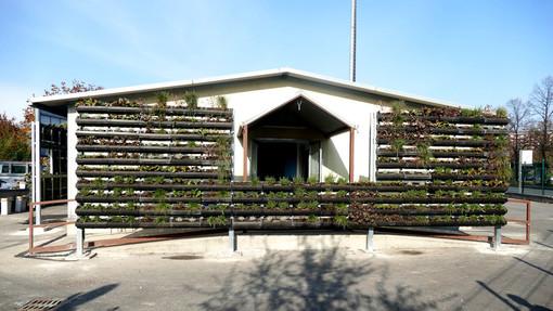 Progetto Progireg: terminati i giardini verticali alla casa di ospitalità notturna di corso Tazzoli