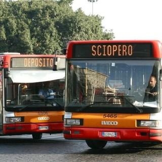 Confermato (per ora) lo sciopero del trasporto pubblico di lunedì