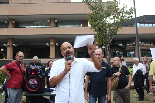 """Paragone (Italexit) a Torino: """"Qui grande fermento, Verra il nostro candidato No Green Pass"""" [FOTO E VIDEO]"""