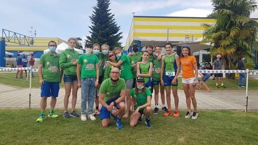 Gli atleti di Valdigne Triathlon presenti in gran numero con ottimi risultati alle più importanti manifestazioni italiane