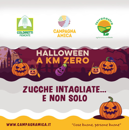 """Coldiretti Piemonte: """"Ad Halloween vince la zucca dalla padella all'intaglio"""""""