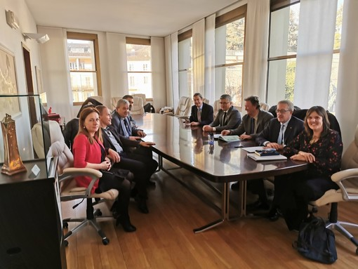 """Frana di Quincinetto, incontro tra gli assessori di Piemonte e Valle d'Aosta: """"Servono soluzioni immediate"""""""