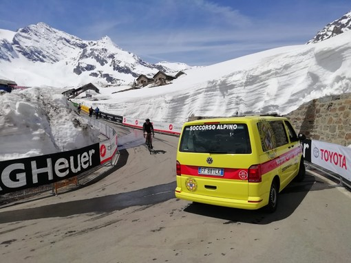 Anche il Soccorso Alpino a supporto del Giro d'Italia