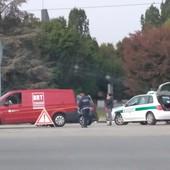 Incidente avvenuto nei pressi dell'uscita della Torino-Milano