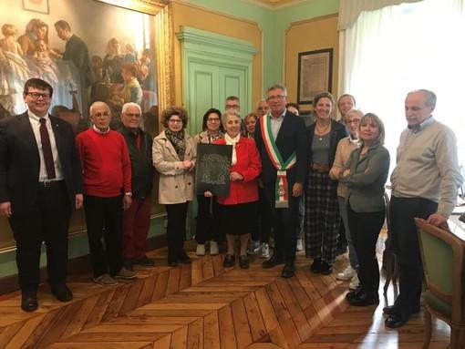 """A Chivasso riconoscimento per Serafina Rizzari, la """"sentinella"""" del Po"""