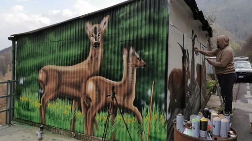 Ingria cambia volto grazie ai murales e suggerisce l'idea anche alla Regione Piemonte