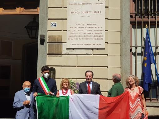 """Bianca Guidetti Serra ricordata oggi nella """"sua"""" via San Dalmazzo"""