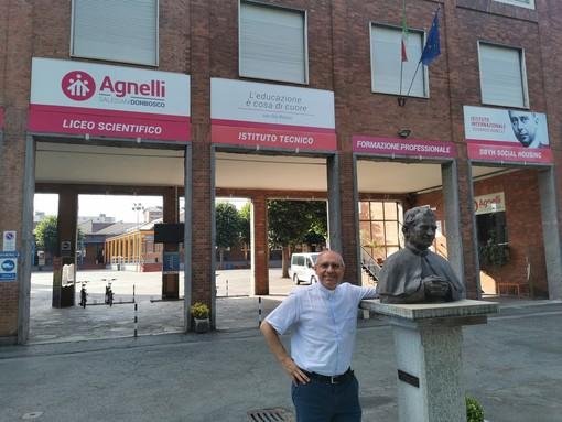 Il Rettor Maggiore dei Salesiani visita e benedice i nuovi laboratori dell'Istituto Edoardo Agnelli