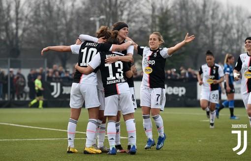 La Juventus Women fa un sol boccone del Valpolicella Chievo Verona: a Vinovo finisce 6 a 0