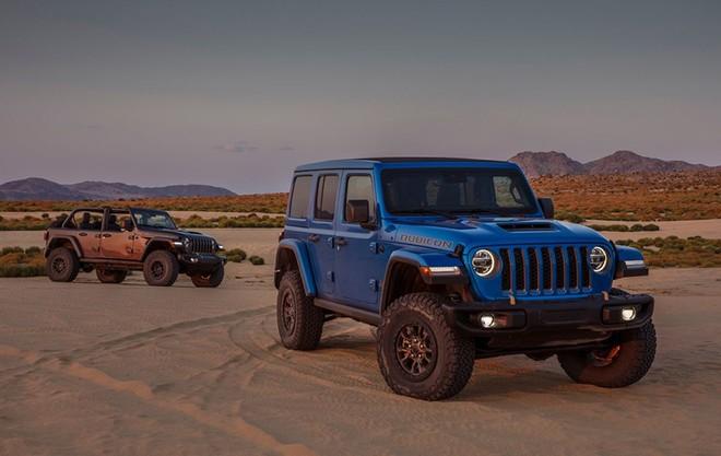 4x4x470! Nuova Jeep® Wrangler Rubicon 392: la migliore di sempre combina leggendaria capability 4x4 con motore V8 da 470 CV