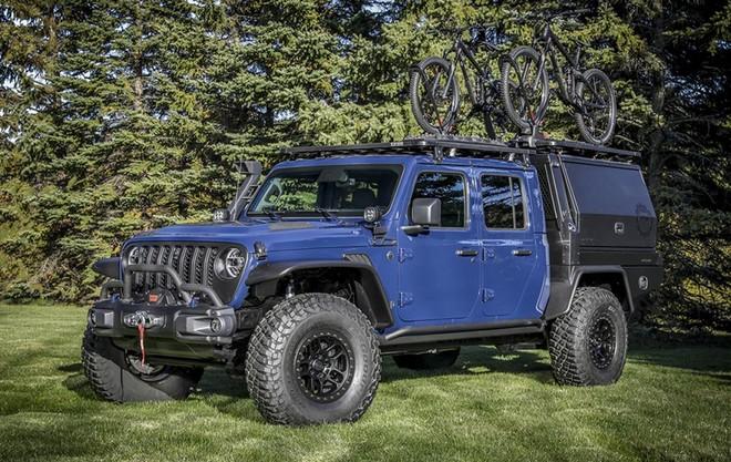 Mopar® presenta la Jeep® Gladiator Top Dog Concept al SEMA360
