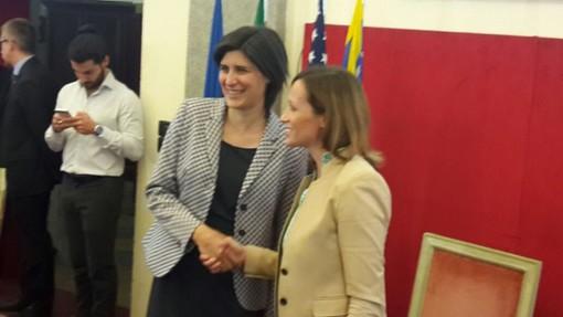 La Clinton sceglie Chiara Appendino (FOTO e VIDEO)