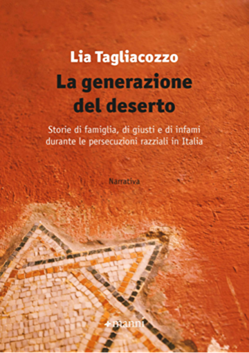 """La copertina del libro """"La generazione del deserto"""" della giornalista Lia Tagliacozzo"""