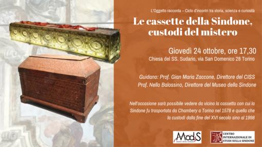 """""""L'oggetto racconta"""": il cofanetto di legno della Sindone e quel viaggio da Chambery a Torino nel 1578"""