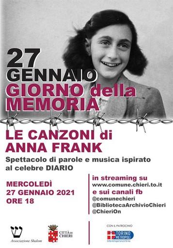 Locandina Anna Frank