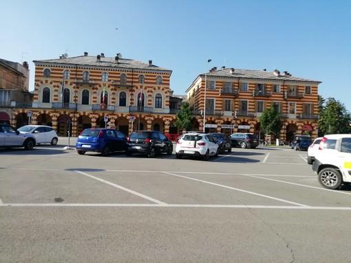 Piazza Partigiani Luserna San Giovanni