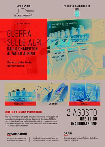"""Bardonecchia, a Palazzo delle Feste la mostra """"Guerra sulle Alpi, dallo Chaberton al Vallo Alpino"""""""