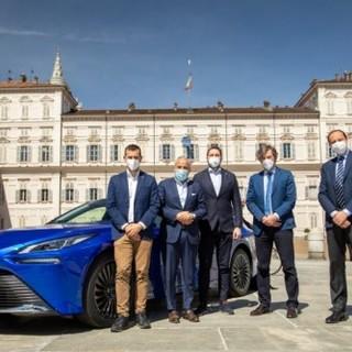 Toyota Motor Italia presenta la Mirai alla Regione Piemonte