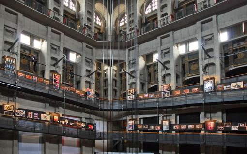 L'interno del museo del Cinema