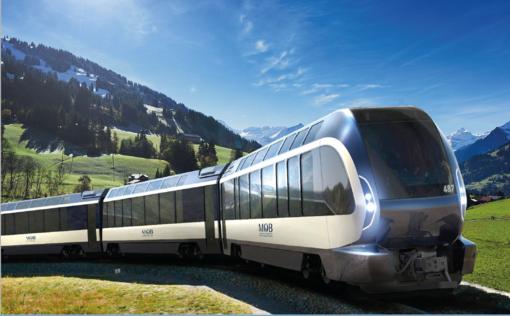 """Lo stile torinesi varca le Alpi: Pininfarina firma il """"treno delle meraviglie"""" svizzero"""
