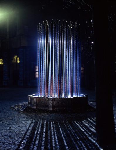 Rivoli, incontro con Marco Bagnoli per l'inaugurazione della fontana del Castello