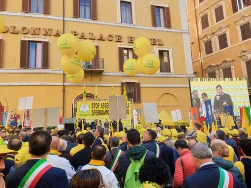 Manifestazione degli agricoltori a Roma contro i pericoli della fauna selvatica: Regione Piemonte propone un tavolo nazionale