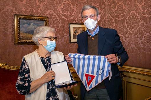 "Superstite di Auschwitz ricevuta dal vicepresidente Salizzoni: ""Un onore incontrarla"""