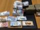 soldi e droga sequestrati dalla polizia