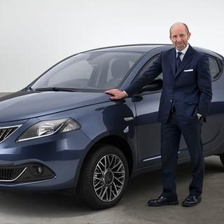 Luca Napolitano alla guida della Nuova Lancia Ypsilon