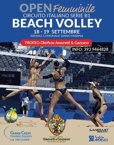Nuove sfide sulla sabbia di Diano Marina per i campioni del beach volley