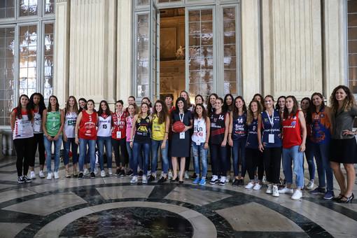 """Presentati a Torino il """"CRAI Opening Day 2018"""" ed i Campionati di Serie  A1 e Serie A2 di basket femminile"""