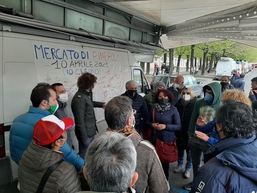 Protesta ambulanti non alimentari Pinerolo