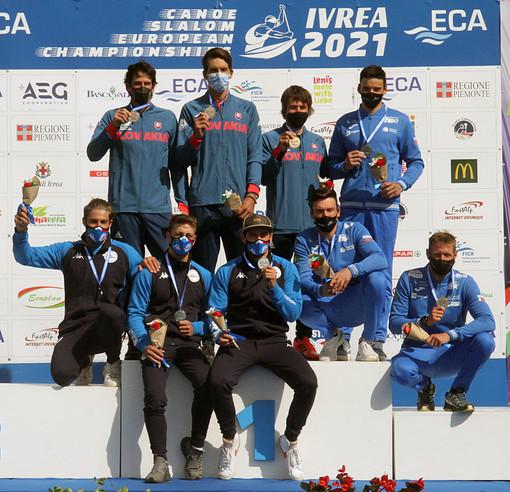 ECA Canoe Slalom European Championship a Ivrea: Per l'Italia è argento nella C1 maschile a squadre