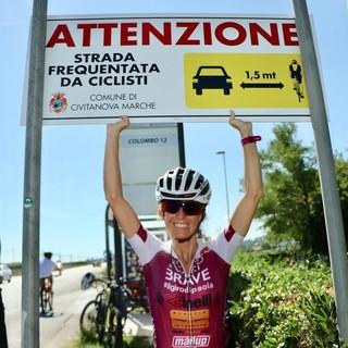Paola Gianotti per la sicurezza dei ciclisti. L'11 luglio parte il suo Giro del Piemonte